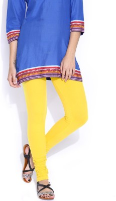 Super Stretch Women's Yellow Leggings
