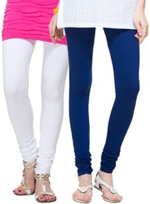 Apsn Retail Women's Blue, White Leggings