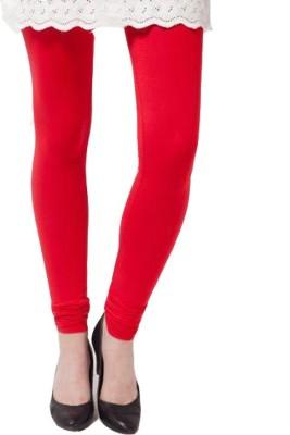 Natural Women's Red Leggings
