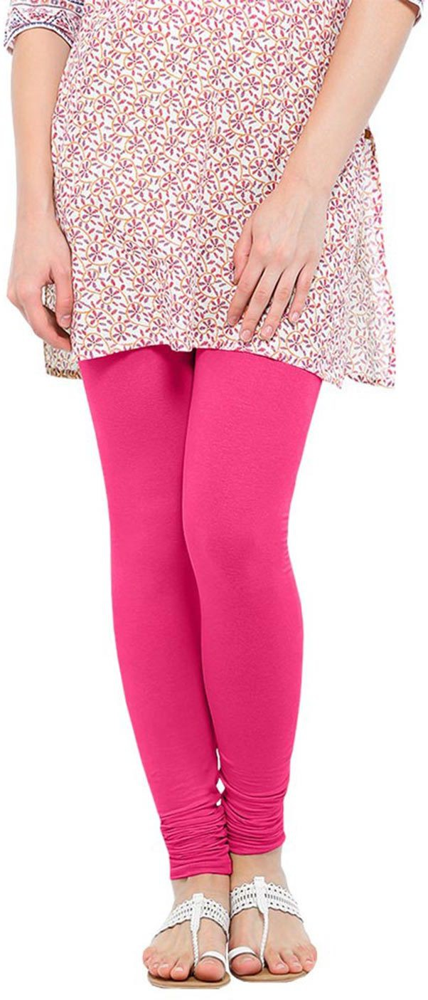 Linking Threads Womens Pink Leggings