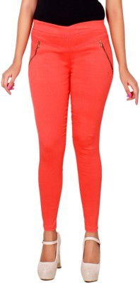 LGC Women's Orange Jeggings