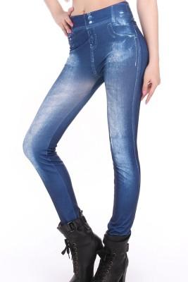 N-Gal Women's Blue Leggings