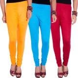 I-Vastra Women's Multicolor Leggings (Pa...