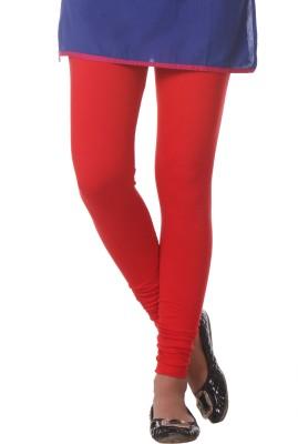 Delizia Women's Red Leggings