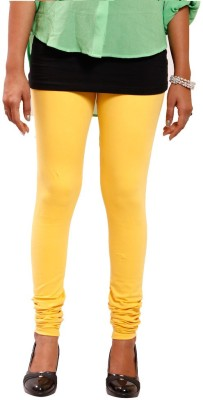 R R Women's Yellow Leggings