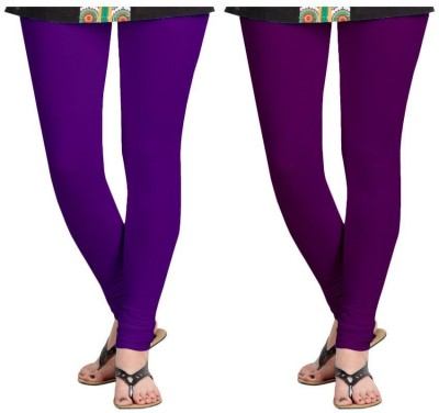 Roshni Creations Women,s Purple, Purple Leggings