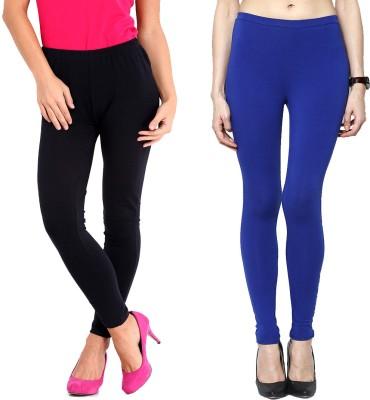 Elisha Women's Black, Blue Leggings