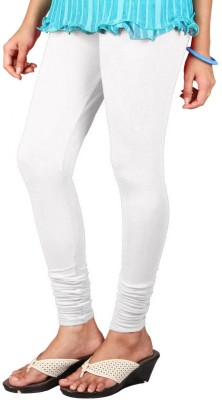 Anshul Textile Women's White Leggings
