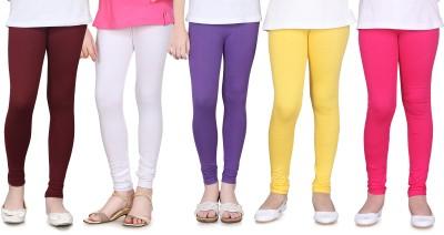 Sini Mini Girl's Multicolor Leggings