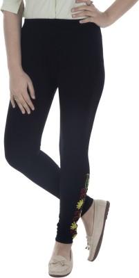 Beatific Women's Black Leggings