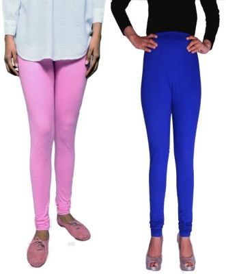 Tanunni Women's Pink, Blue Leggings