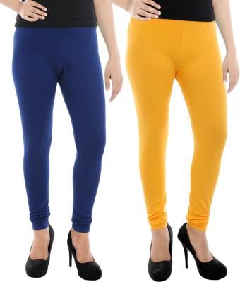 Paulzi Women's Blue, Yellow Leggings