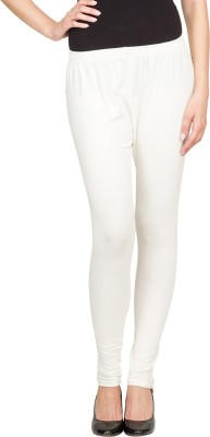 SareeGalaxy Women's White Leggings