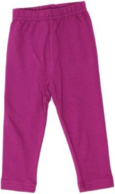 Rhamgold Baby Girl's Purple Leggings