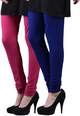 KANNAN Women's Pink, Dark Blue Leggings