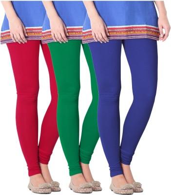 Nice Fit Women's Green, Blue, Red Leggings