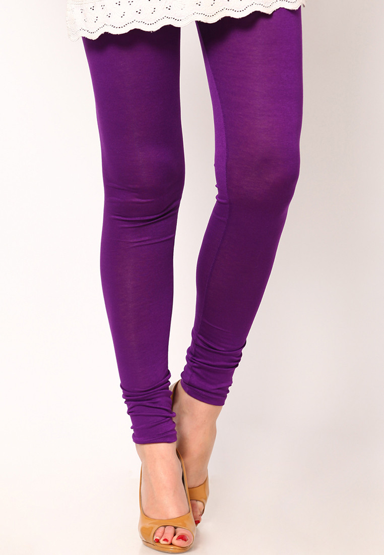 Sportelle USA India Womens Purple Leggings