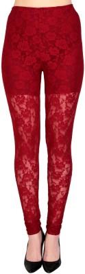 Simrit Women's Maroon Leggings