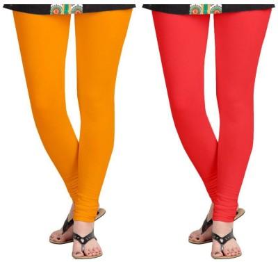 laroyal Women's Yellow, Red Leggings