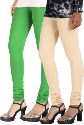 Greenwich Women,s Green, Beige Leggings