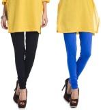 Rupa Softline Women's Black, Blue Leggin...