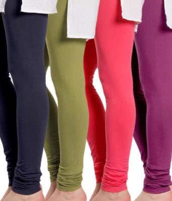 Kiyaracollection Women,s Purple Leggings