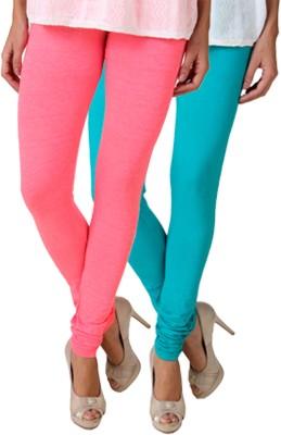 Fasense Women's Pink, Green Leggings