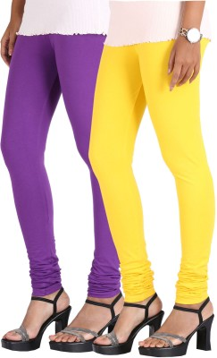 Greenwich Women,s Purple, Yellow Leggings