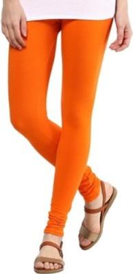 INKINC Women's Orange Leggings