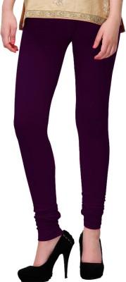 WellFitLook Girl's Purple Leggings
