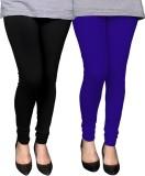PAMO Women's Black, Blue Leggings (Pack ...