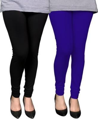 PAMO Women,s Black, Blue Leggings