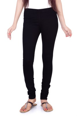 FCK-3 Women's Black Jeggings at flipkart
