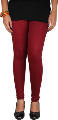 Avelen Women's Maroon Leggings