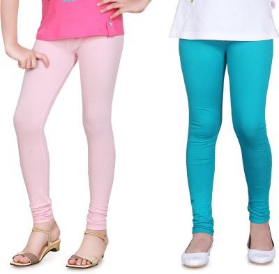 Sini Mini Girl's Pink, Light Blue Leggings