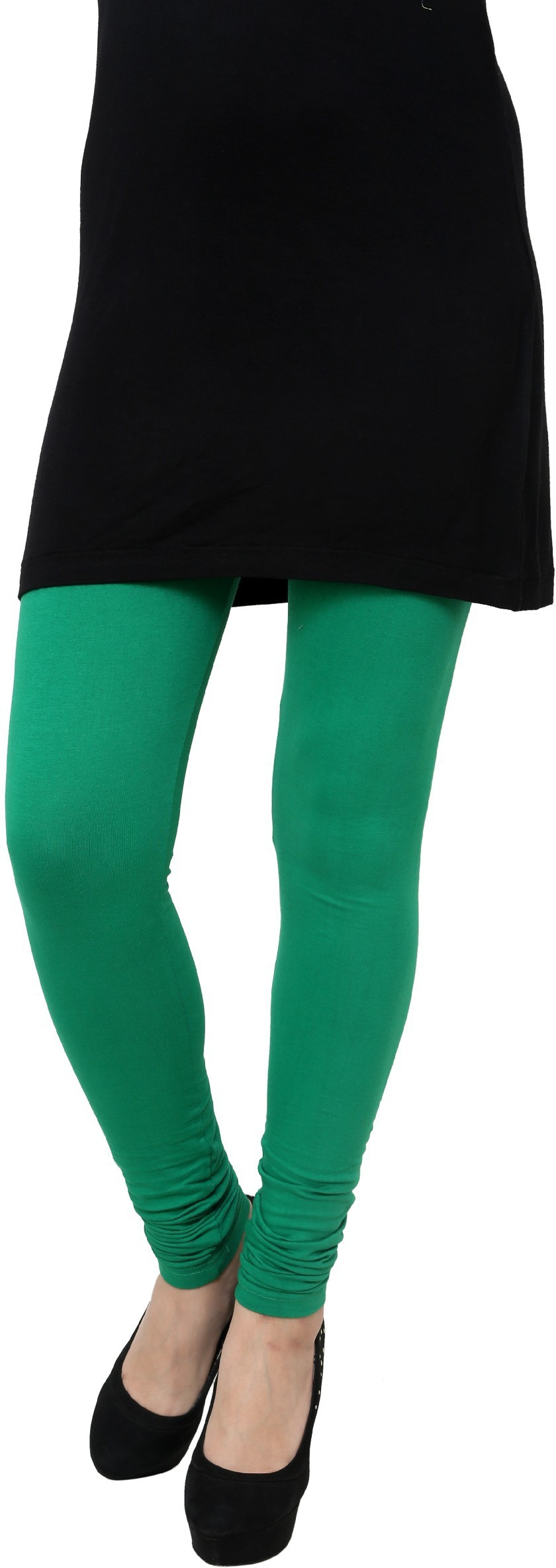 Gen Womens Green Leggings