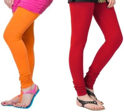 TheEmpire Women's Red, Orange Leggings