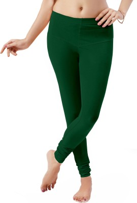 Ziwa Women's Dark Green Leggings