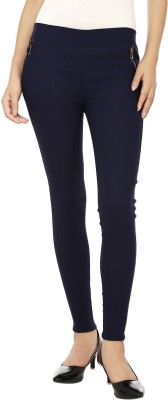 Chik Fab Women's Dark Blue Jeggings