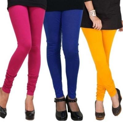 CP Bigbasket Women's Pink, Blue, Yellow Leggings