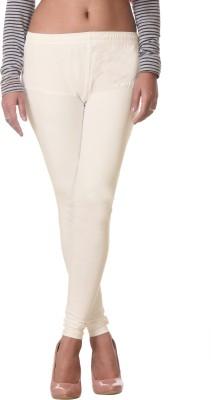 Delizia Women's White Leggings