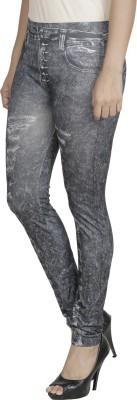 Franclo Women's Black Leggings