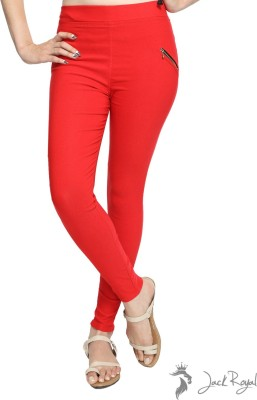 Jack Royal Women's Red Jeggings