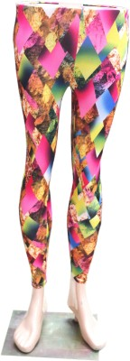 Indiano Women's Multicolor Leggings