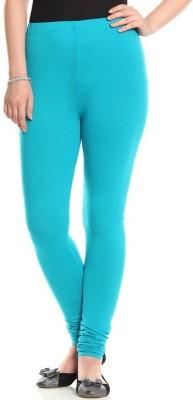 Family Bazaar Women's Light Blue Leggings