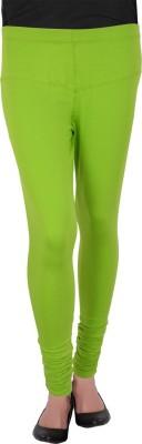 Bellizia Women's Light Green Leggings