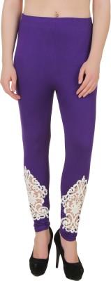 You Forever Women's Purple Leggings