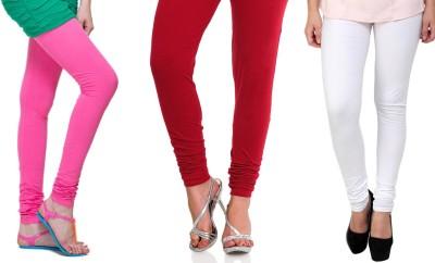 Lienz Women's Pink, Red, White Leggings