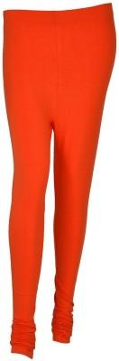 Kahana Women's Orange Leggings