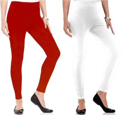 Kamuk Life Women's White, Red Leggings